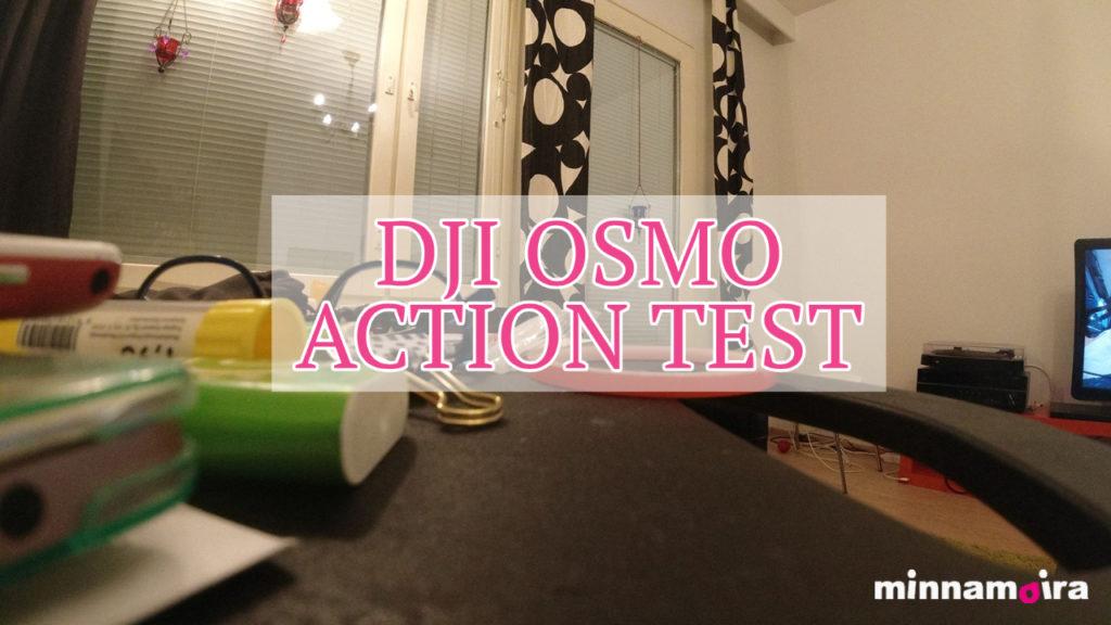 40PLUS woman testing DJI Osmo Action